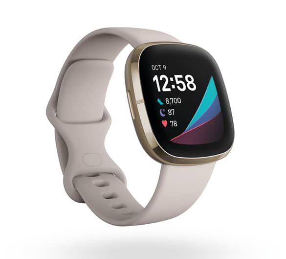Fitbit_Sense_Render_3QTR_Core_Lunar_White_Soft_Gold_Clock_Default_Shadow_fnl